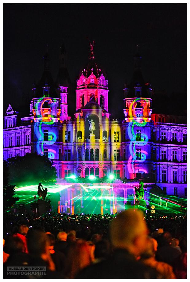 Son et lumière | Schweriner Schlossfest 2016