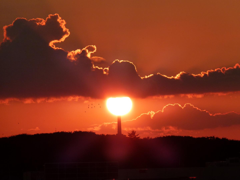 Sondervig Sonnenuntergang