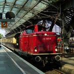 Sonderzug mit Rheingoldwagen