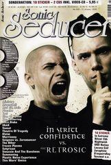 Sonic Seducer 05/2006 - In strict confidence vs the retrosic