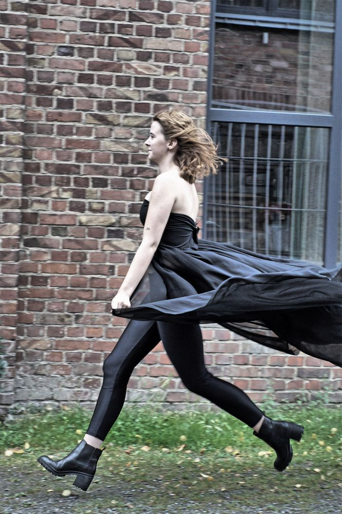 Sonja rennt...