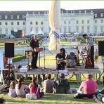 Sonja und die Maratongas  beim Strassenmusik -festival im Park Ludwigsburg 2012
