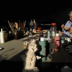Sonne im Atelier