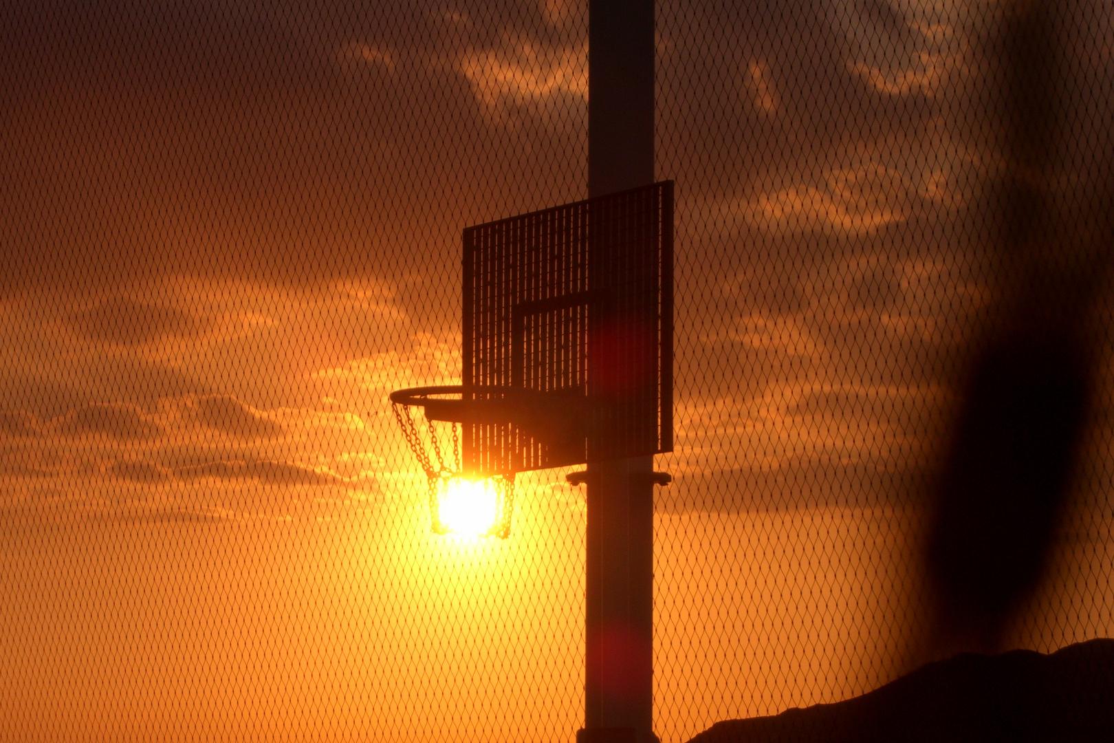 Sonne im Korb