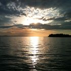 Sonne im See