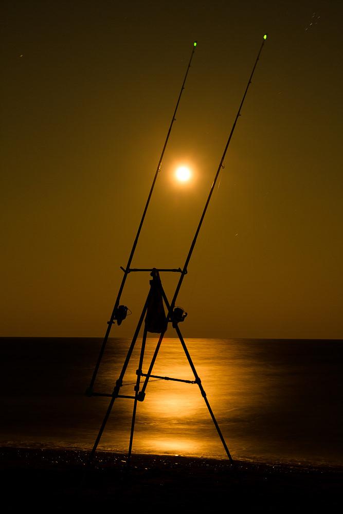 """Sonne in der Nacht...am """"goldenen"""" Meer..."""