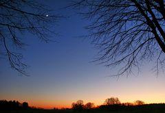 Sonne, Mond und Venus