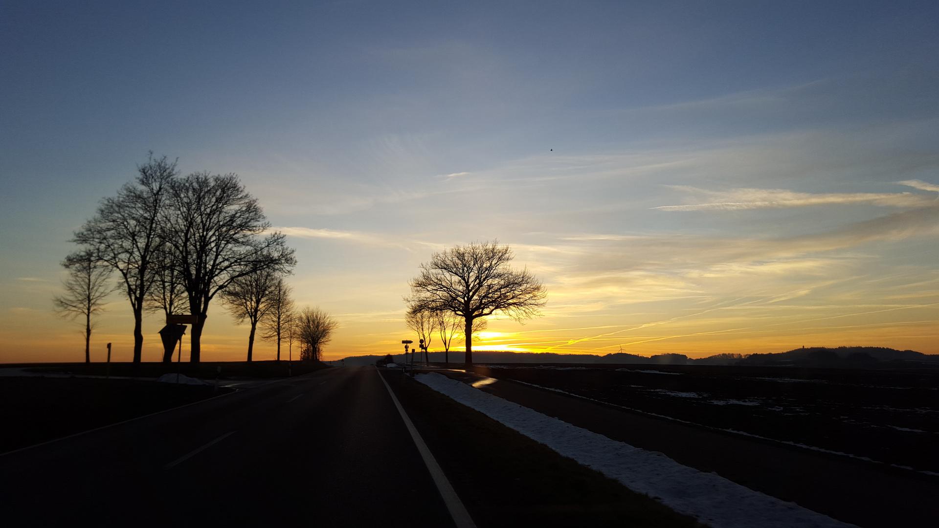 Sonne nach dem Winter