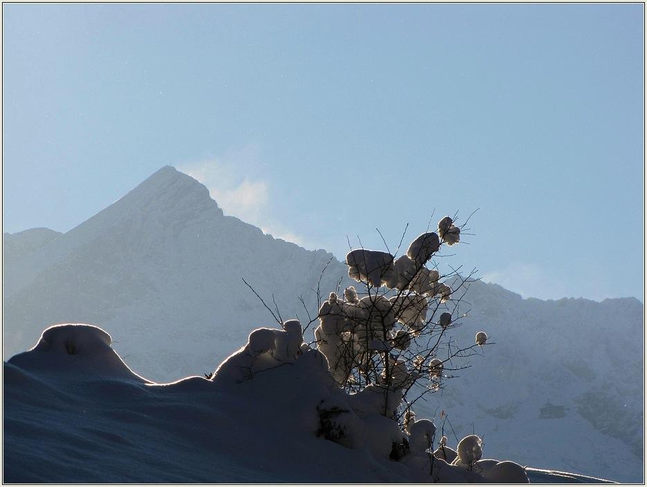 Sonne, Schnee und Berge....