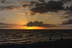 Sonne stralhl am Himmel von Hiddensee