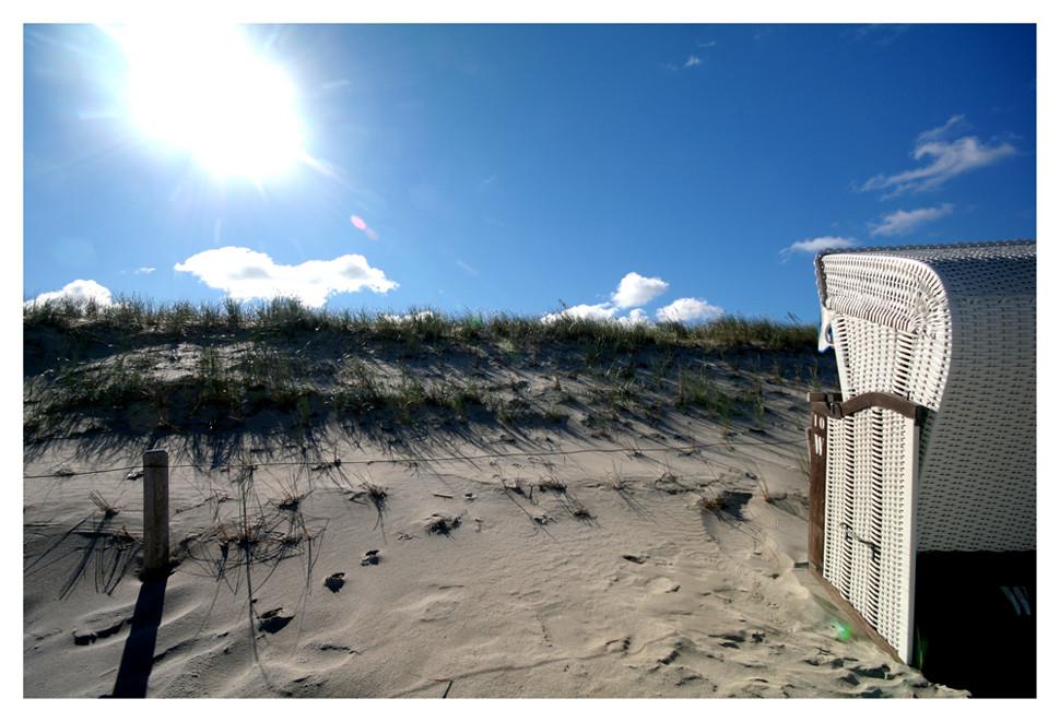 Sonne, Strand ... und wo ist das Meer?