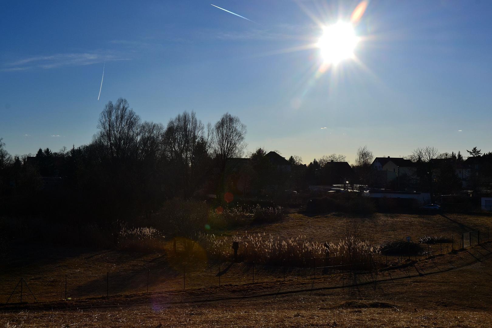 Sonne tanken