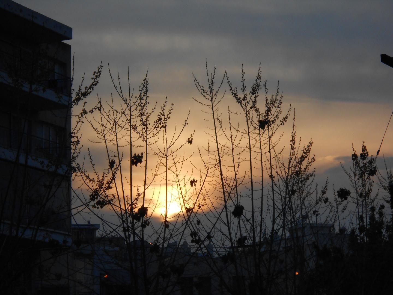 Sonne taucht ab