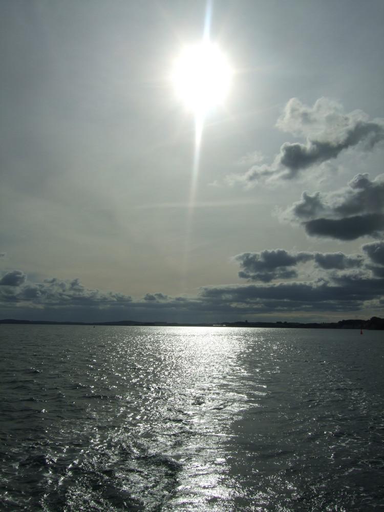 Sonne über Rügen