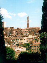 Sonne über Siena
