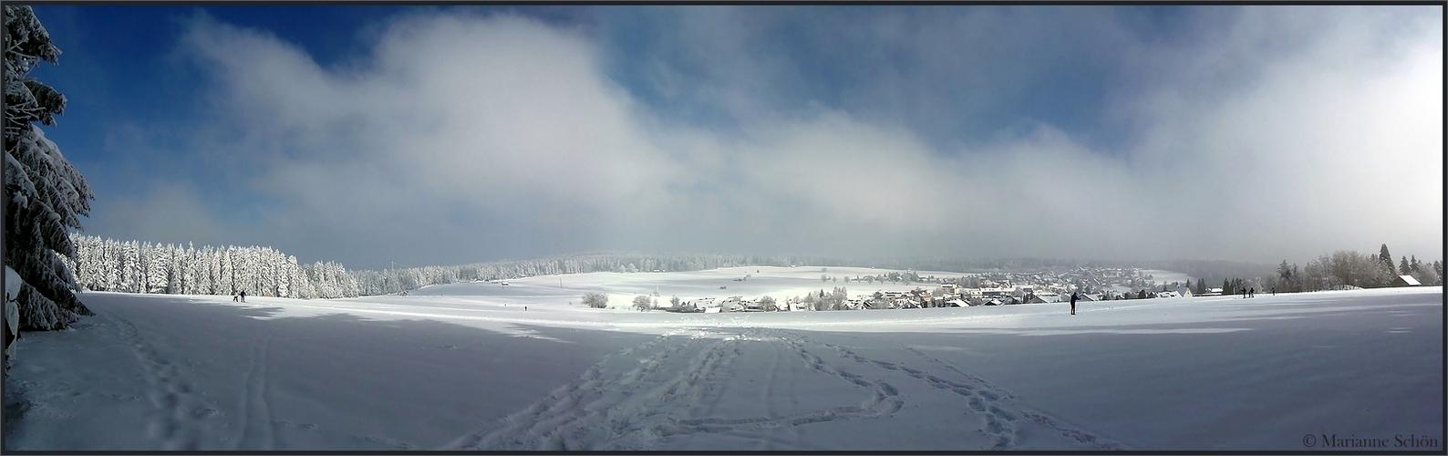 Sonne und Schnee...