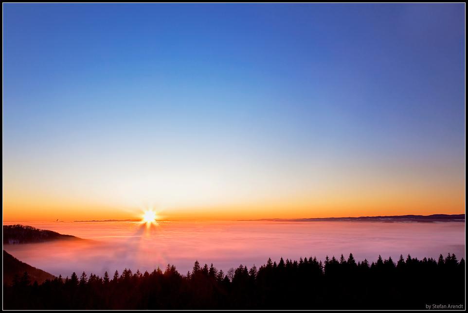 Sonne vs. Nebel