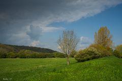 Sonne - Wolken - April