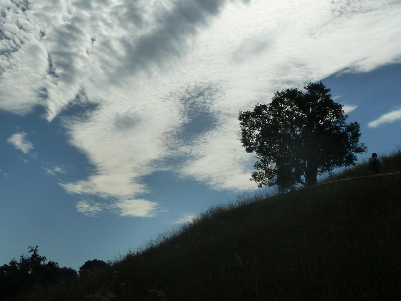 Sonne-Wolken-Gemisch