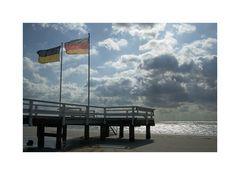 Sonne, Wolken, Wind + Meer ......aber kein, naja kaum, Wasser