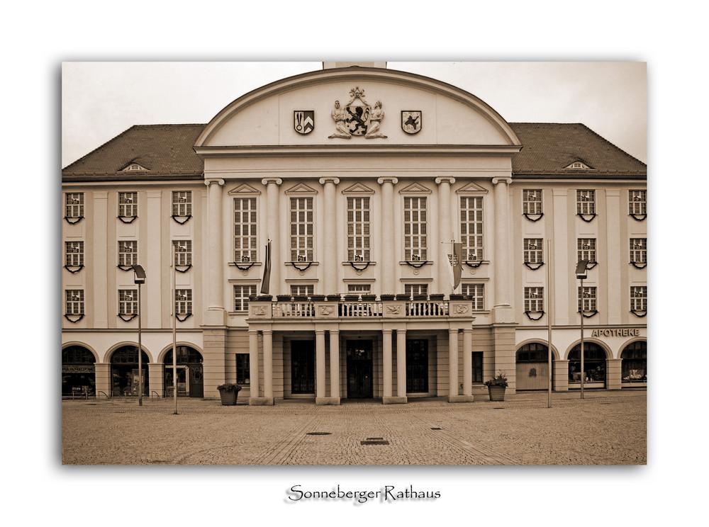 Sonneberger Rathaus