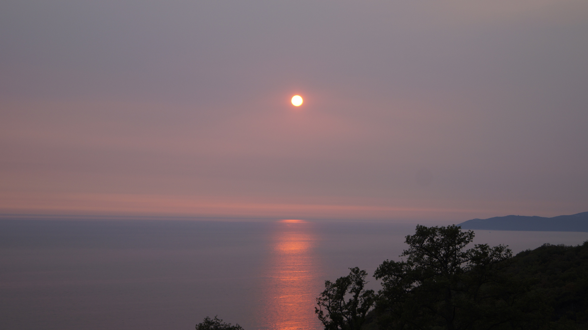 Sonnen untergang Montenegro Budva
