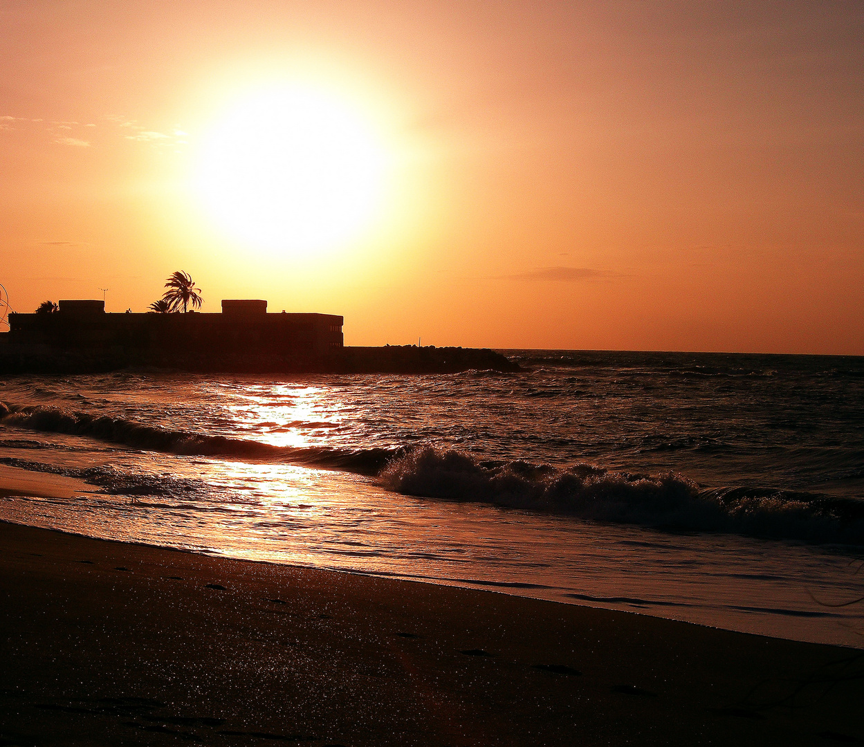 Sonnenaufganf Andalusien