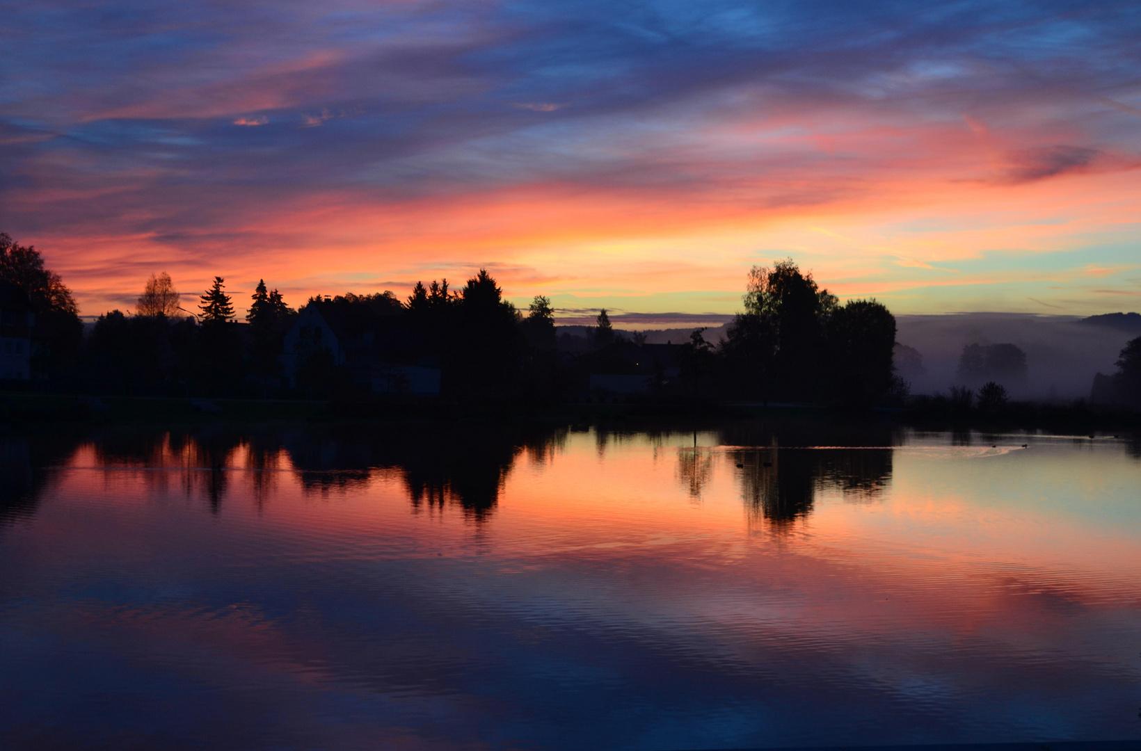 Sonnenaufgang 1 - 9. Oktober 2014