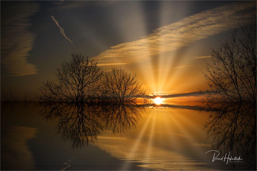 Sonnenaufgang .....