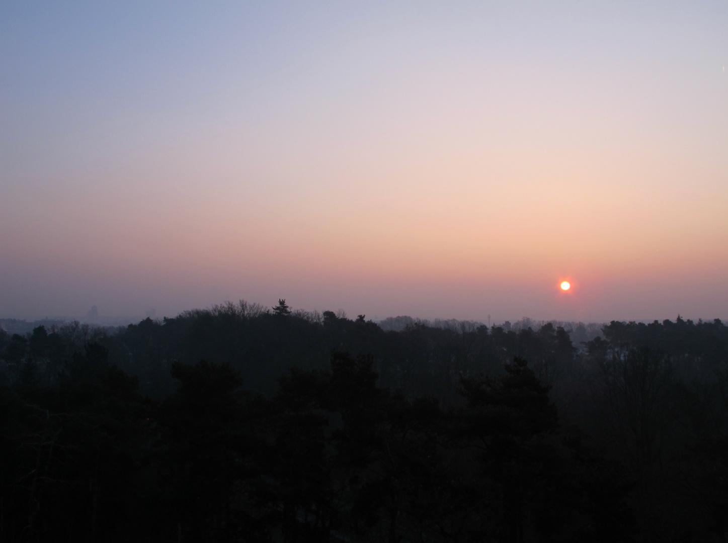 Sonnenaufgang 23.02.2011