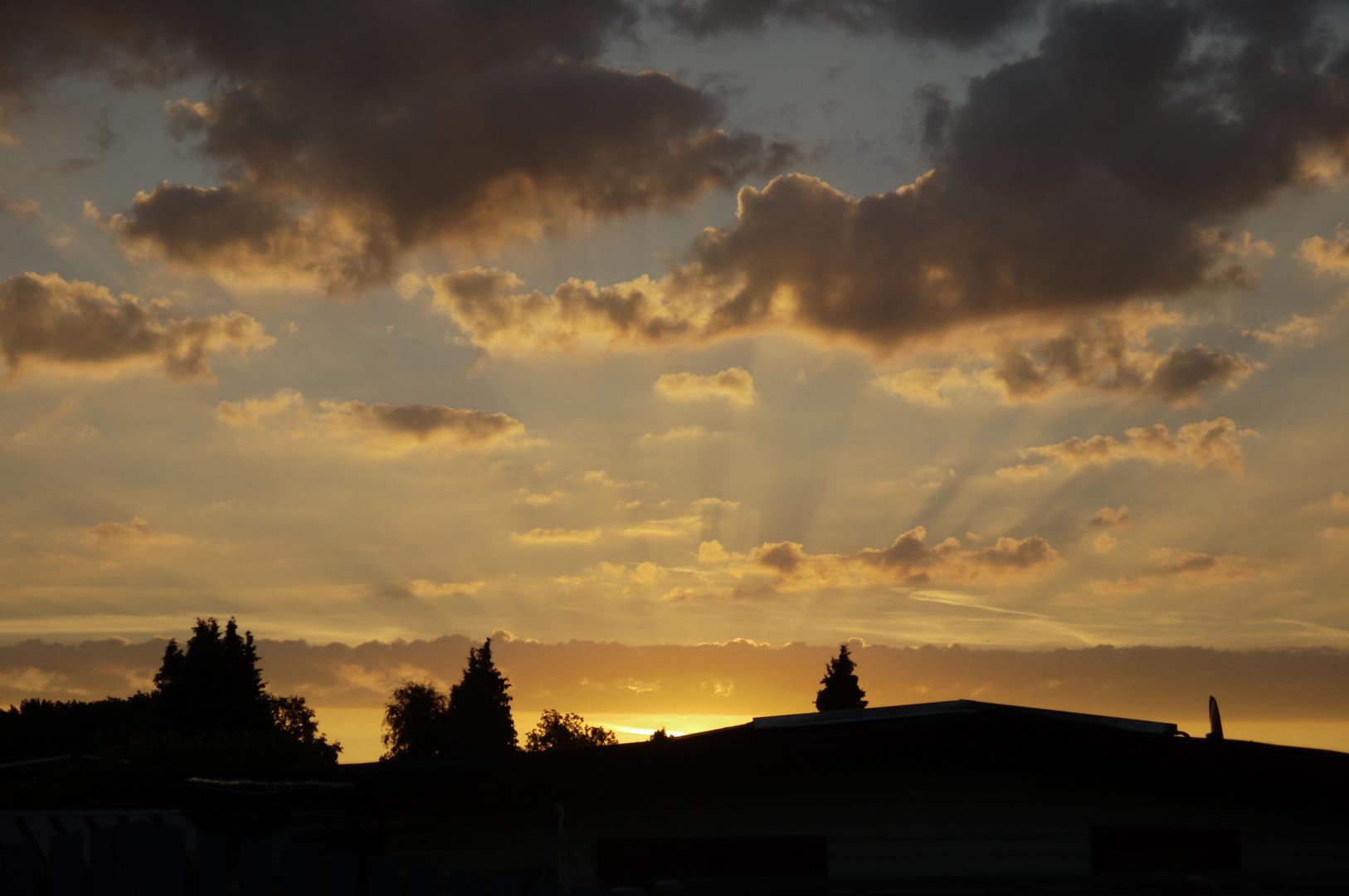 Sonnenaufgang 6:25 Uhr