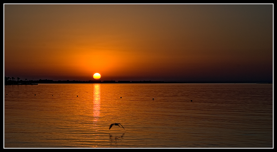 Sonnenaufgang Ägypten Hurghada