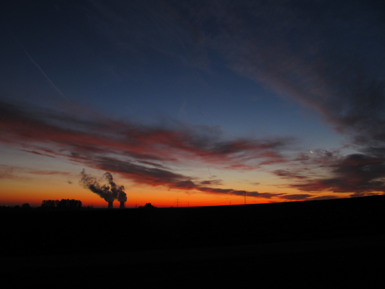 Sonnenaufgang AKW