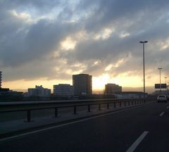 Sonnenaufgang am 06.03.08