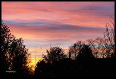 Sonnenaufgang am 5. 1. 2013 -