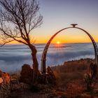 Sonnenaufgang am Adlerbogen...
