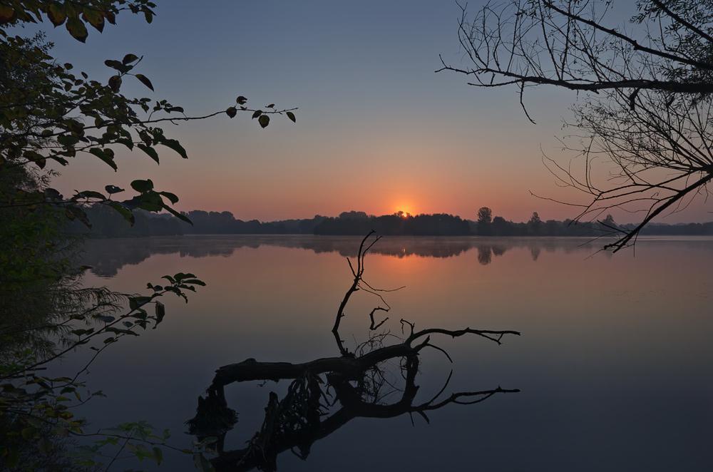 Sonnenaufgang am Adolfosee