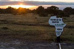 Sonnenaufgang am Äquator