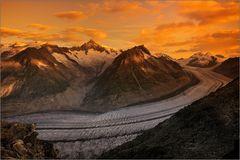 ~ Sonnenaufgang am Aletsch ~