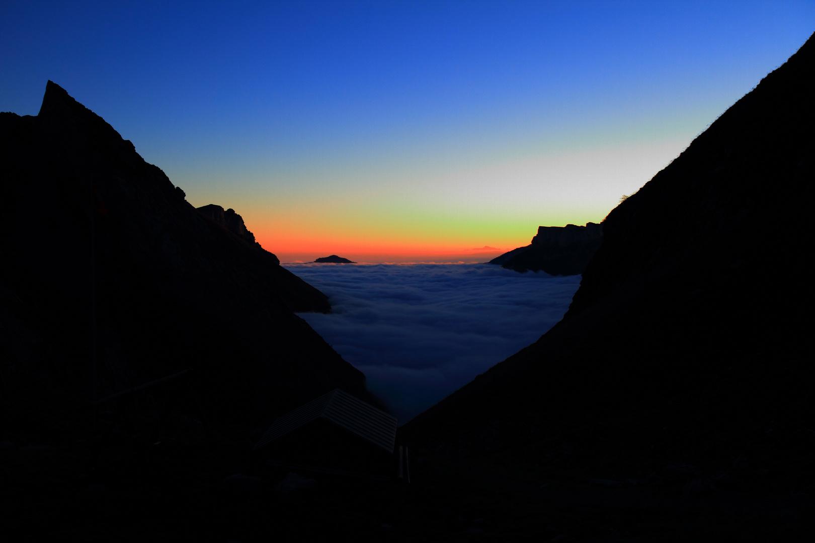 Sonnenaufgang am Alpstein