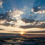 Sonnenaufgang am Berg Athos