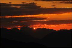 ~ Sonnenaufgang am Eggishorn ~