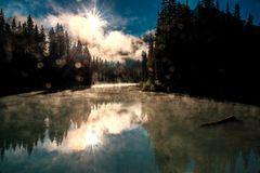 Sonnenaufgang am Emerald Lake