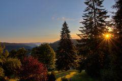 Sonnenaufgang am Feldberg-Bärental