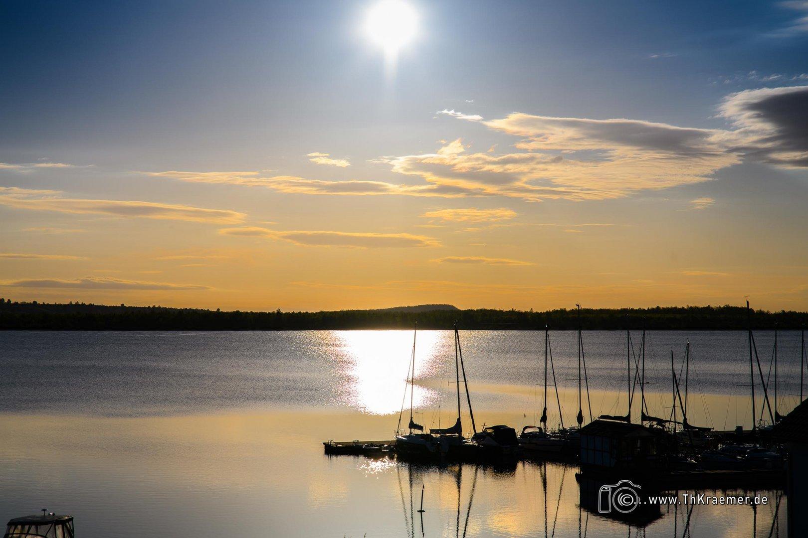 Sonnenaufgang am Geistalsee D85_4244