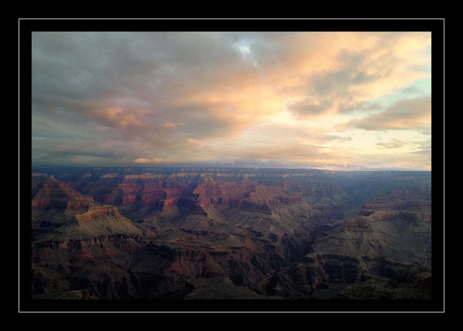 Sonnenaufgang am GrandCanyon das xTe
