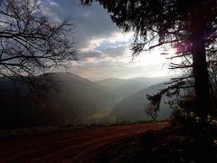 Sonnenaufgang am Hexenstieg