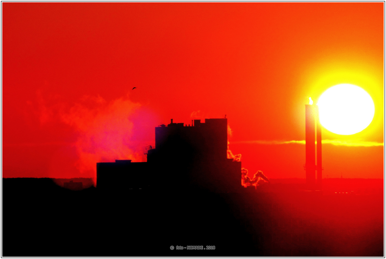 Sonnenaufgang am HKW