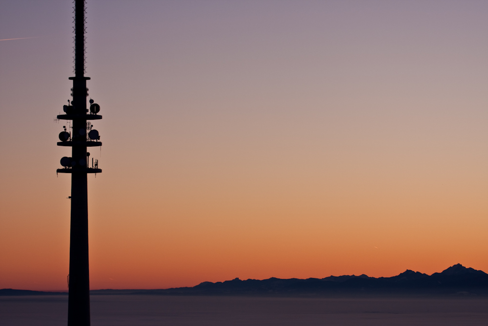 Sonnenaufgang am Hohen Peißenberg II