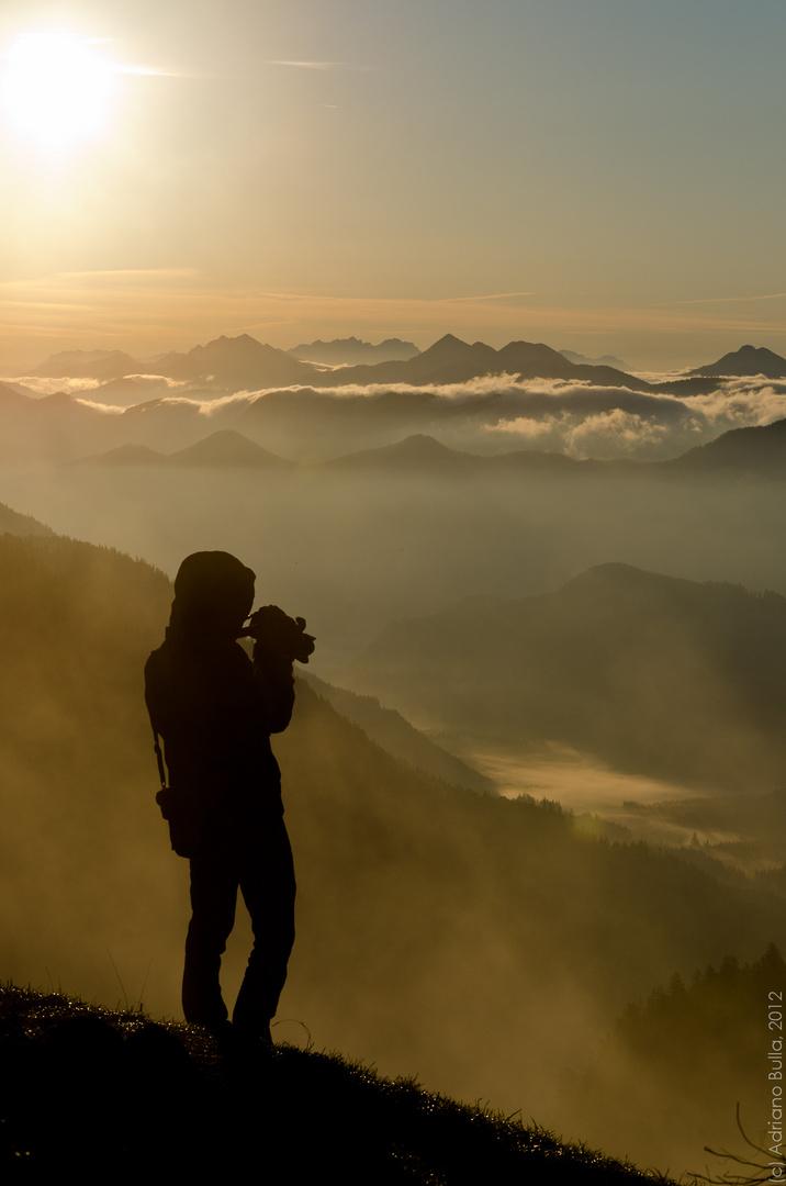 Sonnenaufgang am Jochberg
